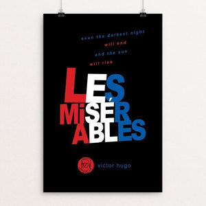 "Les Miserables by Robert Wallman 12"" by 18"" Print / Unframed Print Recovering the Classics"