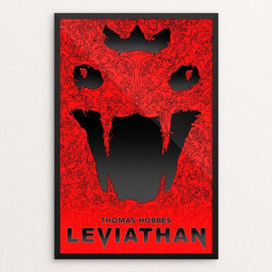 "Leviathan by Jarrett Patterson 12"" by 18"" Print / Framed Print Recovering the Classics"