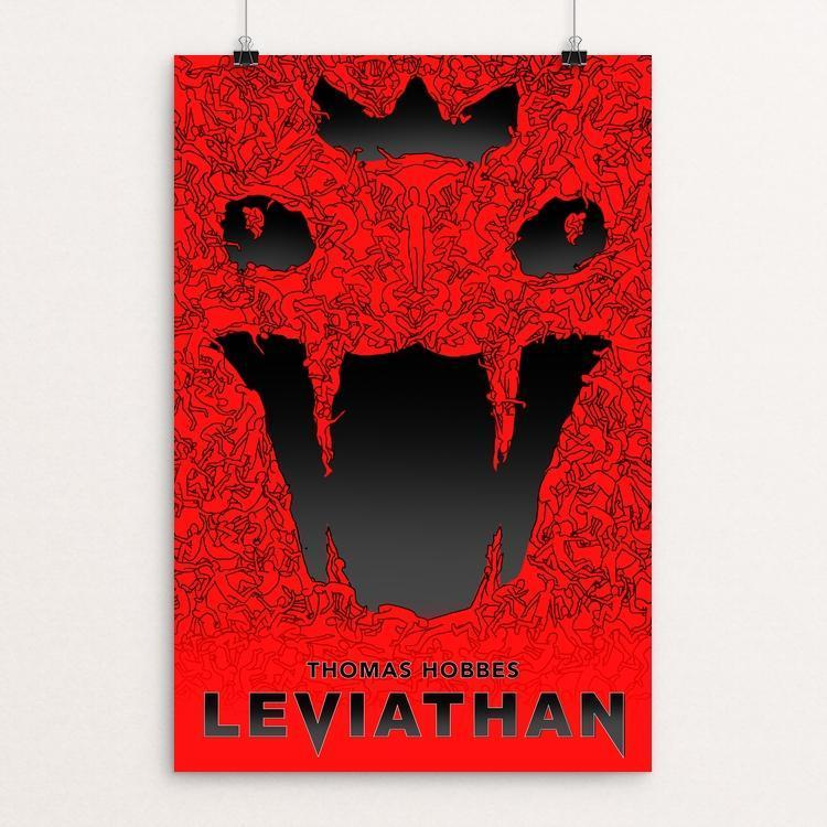 "Leviathan by Jarrett Patterson 12"" by 18"" Print / Unframed Print Recovering the Classics"