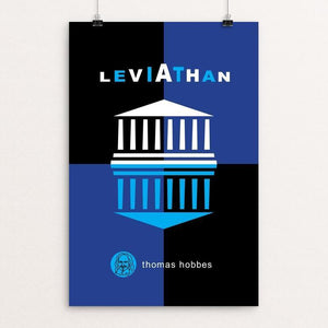 "Leviathan by Robert Wallman 12"" by 18"" Print / Unframed Print Recovering the Classics"