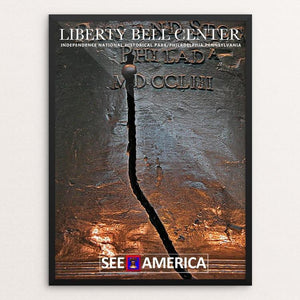 "Liberty Bell, Independence Center National Historical Park by Bob Rubin 12"" by 16"" Print / Framed Print See America"