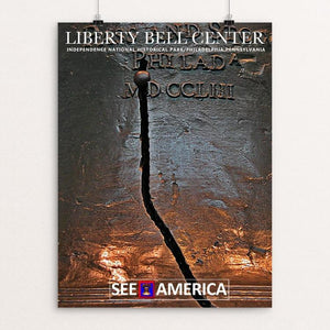 "Liberty Bell, Independence Center National Historical Park by Bob Rubin 12"" by 16"" Print / Unframed Print See America"