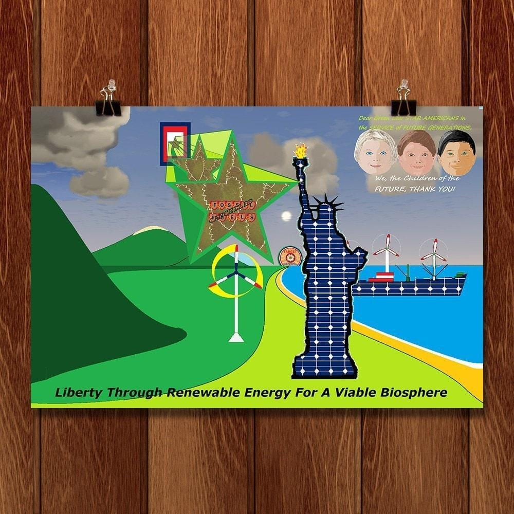Liberty Through Renewable Energy For A Viable Biosphere by Anthony G. Gelbert