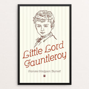 "Little Lord Fauntleroy by Ed Gaither 12"" by 18"" Print / Framed Print Recovering the Classics"
