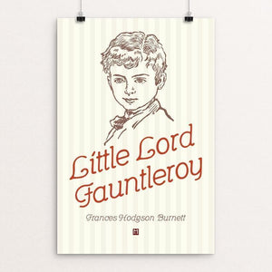 "Little Lord Fauntleroy by Ed Gaither 12"" by 18"" Print / Unframed Print Recovering the Classics"