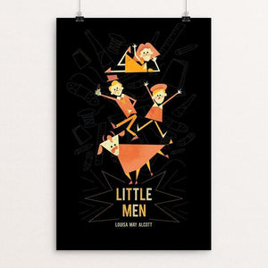 "Little Men by Renee Rolewicz 12"" by 18"" Print / Unframed Print Recovering the Classics"