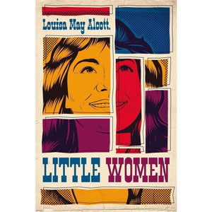 "Little Women by Roberlan Borges Paresqui 12"" by 18"" Print / Unframed Print Recovering the Classics"