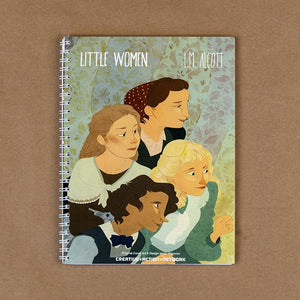 Little Women Notebook by Lia Marcoux Spiral Spiral Notebook Recovering the Classics