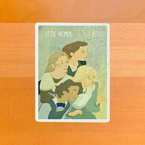 Little Women Sticker by Lia Marcoux Stickers Recovering the Classics