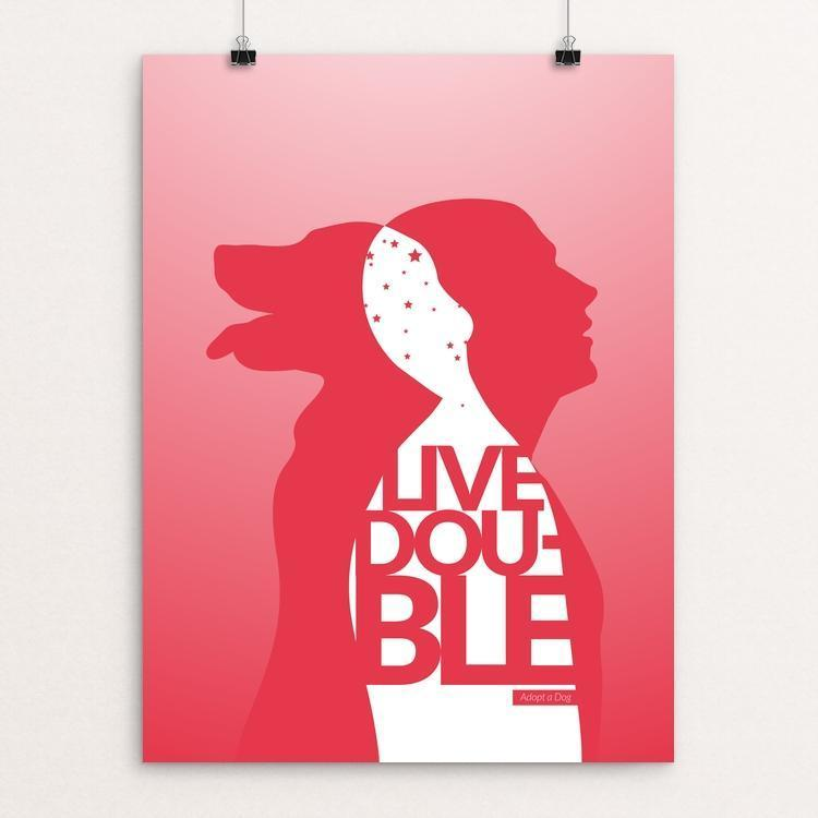 "Live Double by Mayanglambam Singh 12"" by 16"" Print / Unframed Print Creative Action Network"