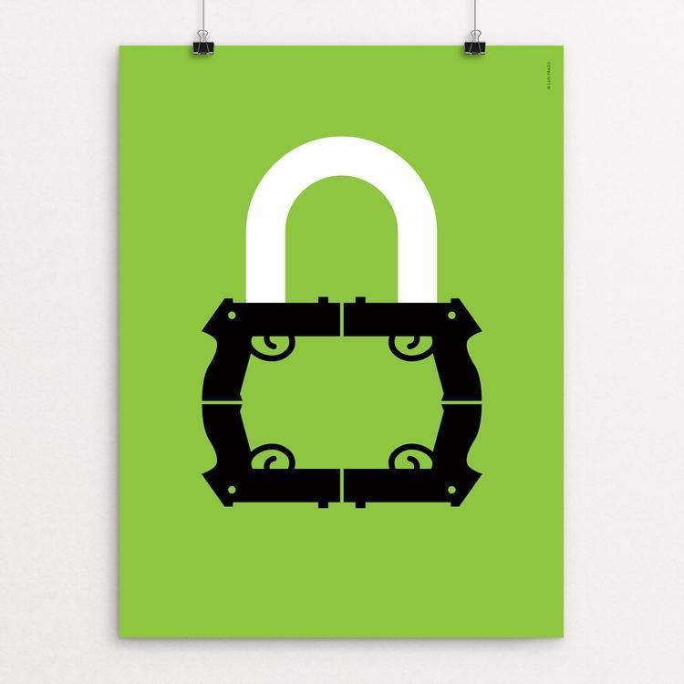 "Lock 2 by Luis Prado 18"" by 24"" Print / Unframed Print The Gun Show"