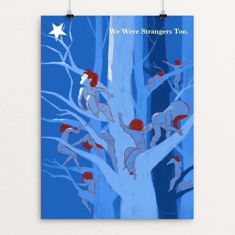 "Lost Children in the Woods by Jose Luis Agreda 12"" by 16"" Print / Unframed Print We Were Strangers Too"