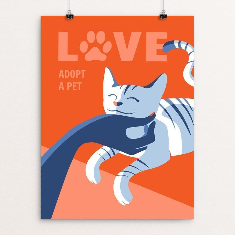 Love Is Adopting a Pet by Janie Kliever