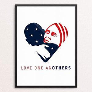 "Love one anOTHERS by Jake Van Yahres 18"" by 24"" Print / Framed Print Creative Action Network"