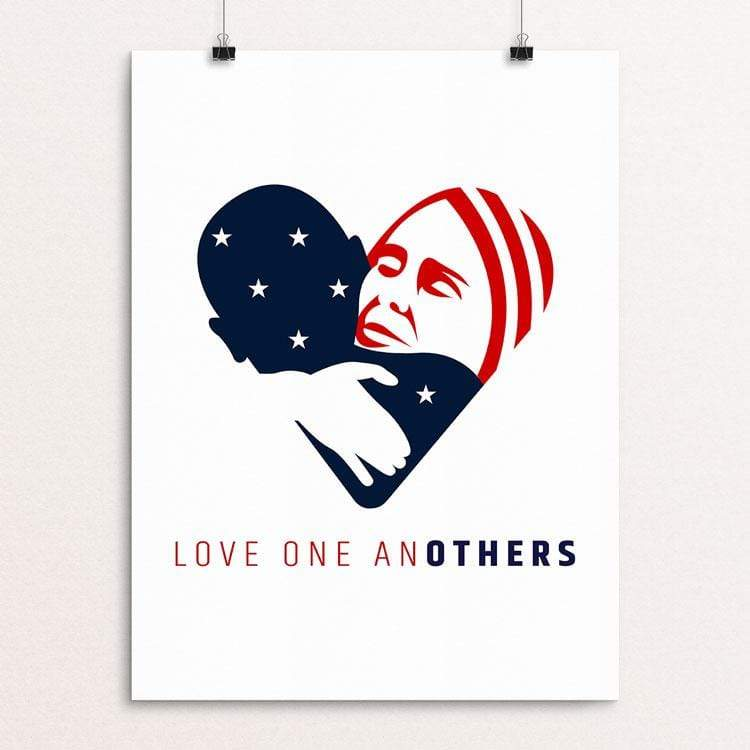 "Love one anOTHERS by Jake Van Yahres 18"" by 24"" Print / Unframed Print Creative Action Network"