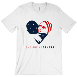 Love one anOTHERS Men's T-Shirt by Jake Van Yahres White / Extra Small (XS) T-Shirt Creative Action Network