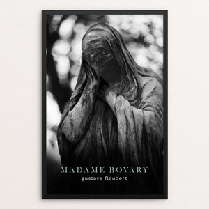 "Madame Bovary by Nick Fairbank 12"" by 18"" Print / Framed Print Recovering the Classics"