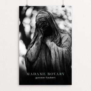 "Madame Bovary by Nick Fairbank 12"" by 18"" Print / Unframed Print Recovering the Classics"