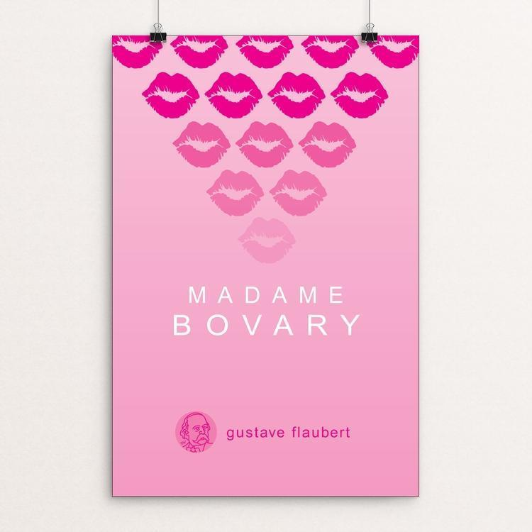 "Madame Bovary by Robert Wallman 12"" by 18"" Print / Unframed Print Recovering the Classics"