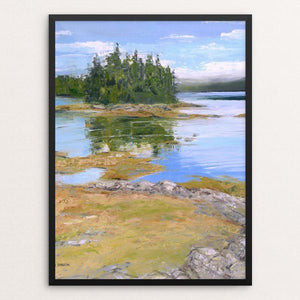 "Maine's Coastal Heritage by Hannah Ineson 12"" by 16"" Print / Framed Print Creative Action Network"