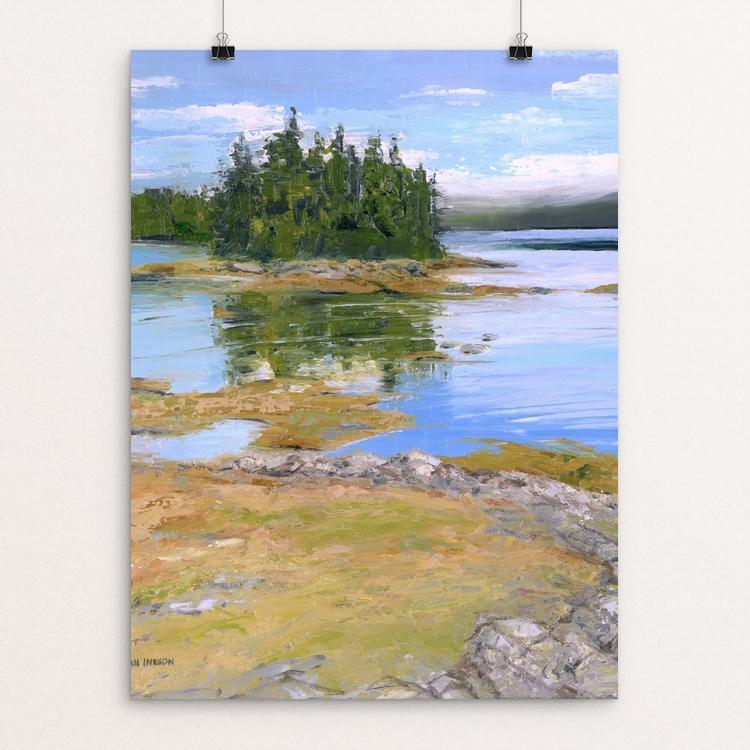 "Maine's Coastal Heritage by Hannah Ineson 12"" by 16"" Print / Unframed Print Creative Action Network"