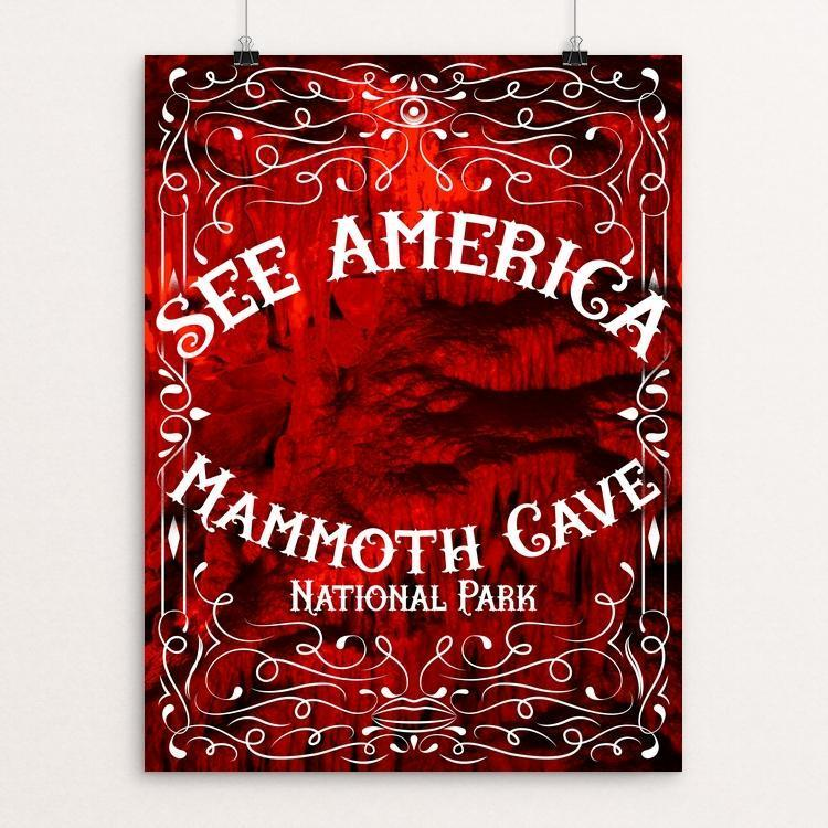 "Mammoth Cave National Park by Roberlan Borges 12"" by 16"" Print / Unframed Print See America"