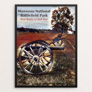 Manassas National Battlefield Park by Bryan Bromstrup