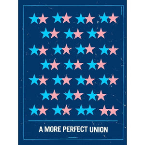 "Marriage Equality by Brixton Doyle 18"" by 24"" Print / Unframed Print A More Perfect Union"