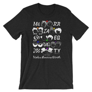 Marriage Equality Men's T-Shirt by Mark Addison Smith S / Heather Black T-Shirt What Makes America Great