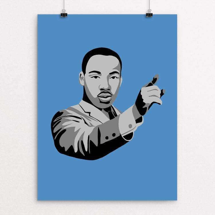 "Martin Luther King Jr. ""I Have A Dream"" by Edward Morris"