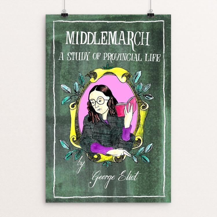 "Middlemarch by Andrew Fairweather 12"" by 18"" Print / Unframed Print Recovering the Classics"