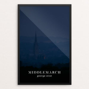"Middlemarch by Nick Fairbank 12"" by 18"" Print / Framed Print Recovering the Classics"