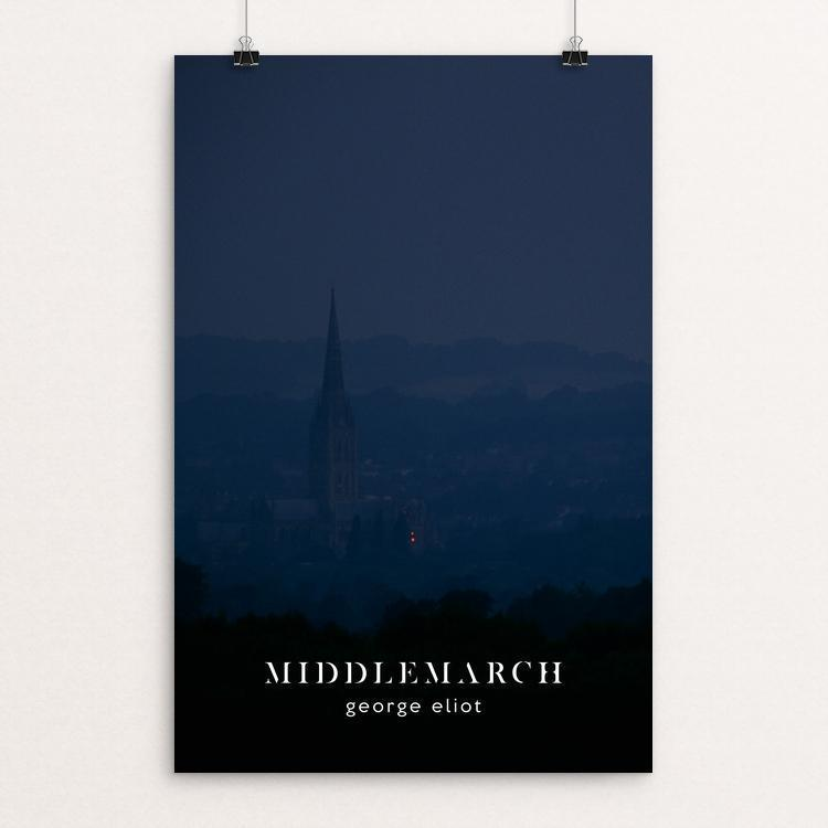 "Middlemarch by Nick Fairbank 12"" by 18"" Print / Unframed Print Recovering the Classics"