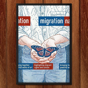 "Migration Nation by Brixton Doyle 12"" by 18"" Print / Framed Print Migration Nation"