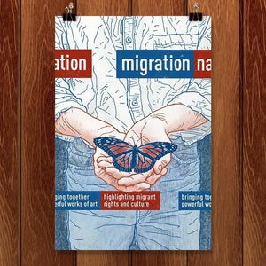 "Migration Nation by Brixton Doyle 12"" by 18"" Print / Unframed Print Migration Nation"