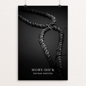 "Moby-Dick by Nick Fairbank 12"" by 18"" Print / Unframed Print Recovering the Classics"
