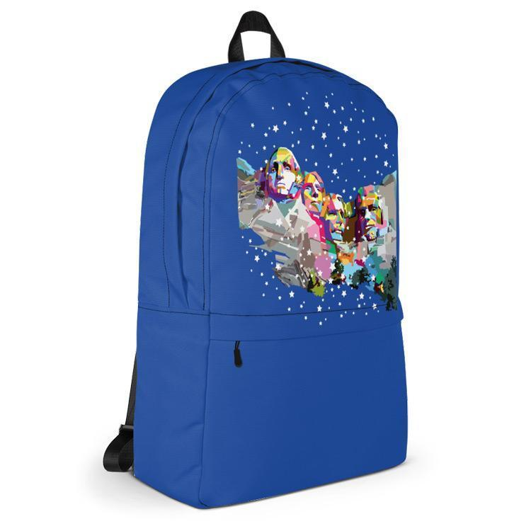 Mount Rushmore National Memorial Backpack by Wedha Abdul Rasyid Backpack See America