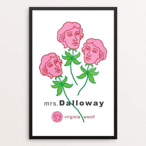 "Mrs. Dalloway in Bond Street by Robert Wallman 12"" by 18"" Print / Framed Print Recovering the Classics"