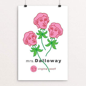 "Mrs. Dalloway in Bond Street by Robert Wallman 12"" by 18"" Print / Unframed Print Recovering the Classics"