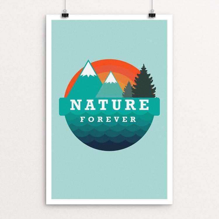 "Nature Forever by Jef Caine 12"" by 18"" Print / Unframed Print Power to the Poster"