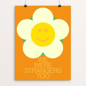 "Neighbors by Gabriel Benderski 12"" by 16"" Print / Unframed Print We Were Strangers Too"