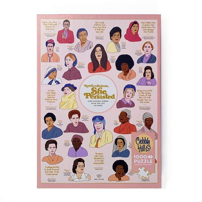Nevertheless She Persisted Jigsaw Puzzle Puzzle Creative Action Network