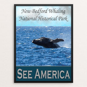 "New Bedford Whaling National Historic Park by Sheri Emerson 12"" by 16"" Print / Framed Print See America"