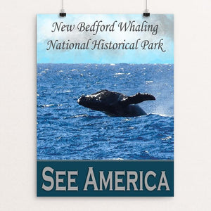 "New Bedford Whaling National Historic Park by Sheri Emerson 12"" by 16"" Print / Unframed Print See America"