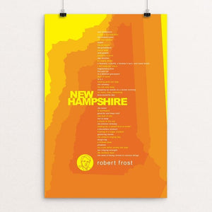 "New Hampshire by Robert Wallman 12"" by 18"" Print / Unframed Print Recovering the Classics"
