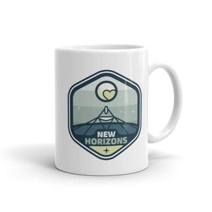 New Horizons Mug by Zuyva Sevilla 11oz Mug Space Horizons