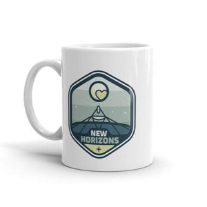 New Horizons Mug by Zuyva Sevilla
