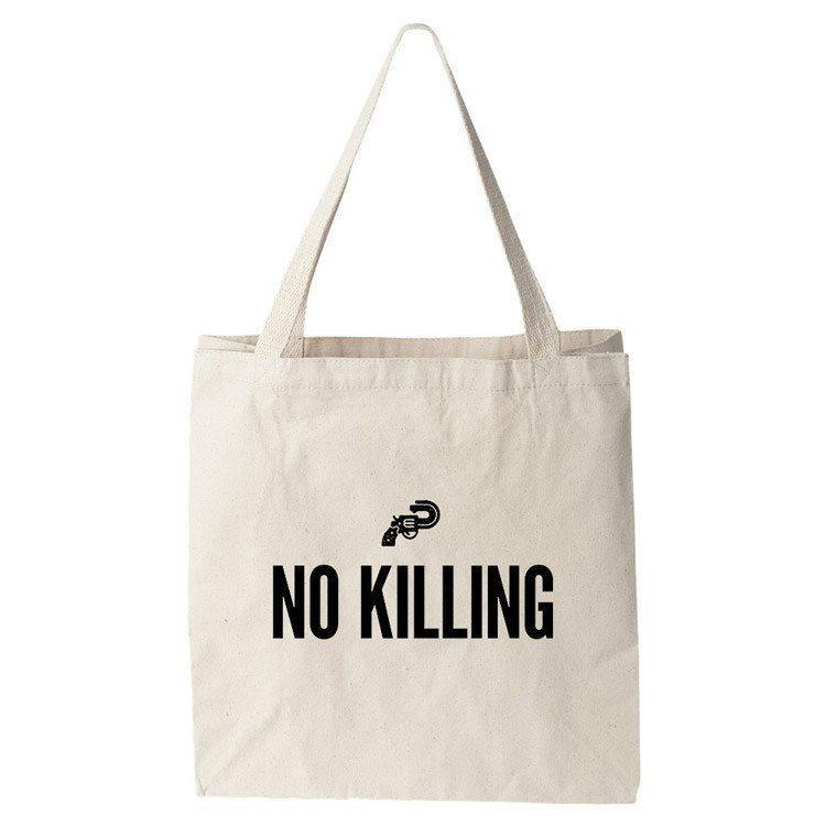 No Killing Tote Bag by Brandon Kish Tote Bag The Gun Show