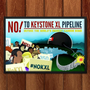 No! To Keystone XL Pipeline by Marcacci Communications