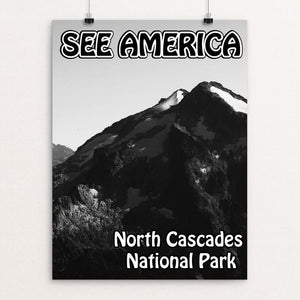 "North Cascades National Park by Eitan S. Kaplan 12"" by 16"" Print / Unframed Print See America"